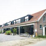 Westgevel stal Arthur Koolkwartier Ede, energiezuinig gerenoveerd door architect