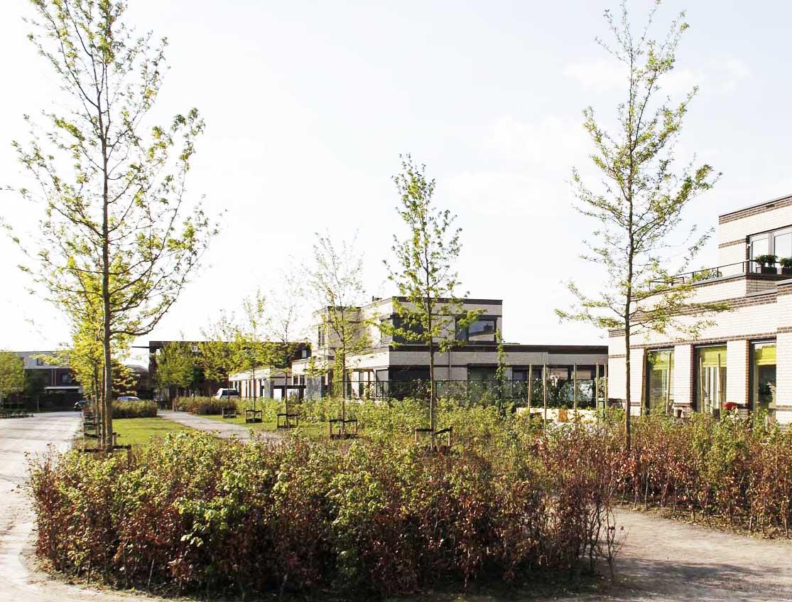 Seniorenwoningen in het groen in CPO project in Eindhoven