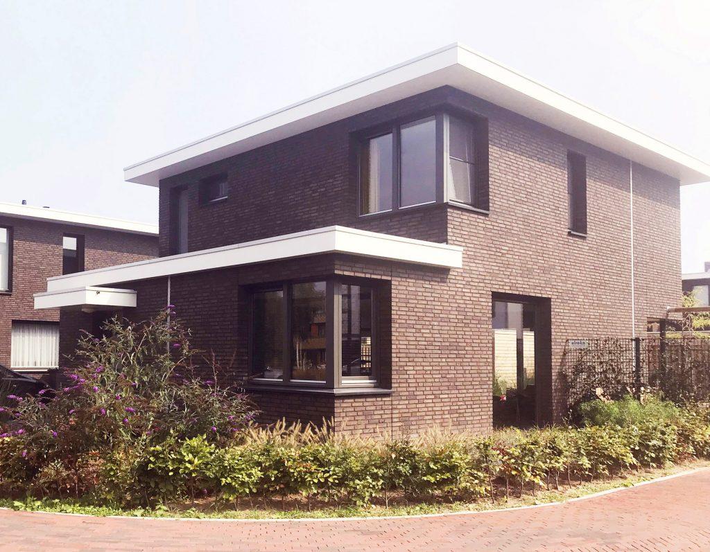 een goed voorbeeld van een CPO project; vrijstaand woonhuis in Eindhoven ontworpen door architect